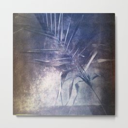 STILL LIFE WITH A PALM BRANCH. Film photography. Metal Print
