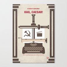 No645 My Hail Caesar minimal movie poster Canvas Print
