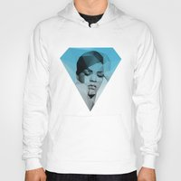 rihanna Hoodies featuring Rihanna by David