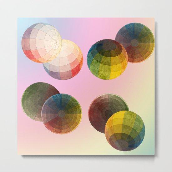 Playing ball with colour Metal Print