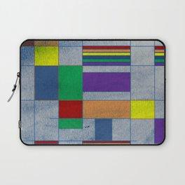 Mid-Century Modern Art - Rainbow Pride 1.0 Laptop Sleeve