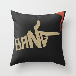 See You Space Cowboy... Throw Pillow