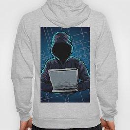 Computer hacker spread a net Hoody