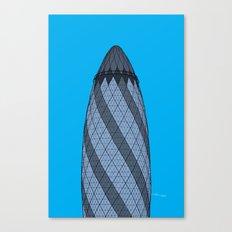 London Town - The Gherkin Canvas Print