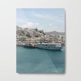 Naxos Metal Print
