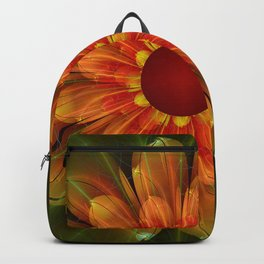 Artistic fantasy succulent flower Backpack