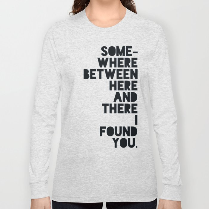 Here & There II Long Sleeve T-shirt
