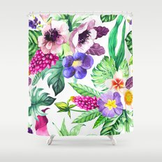 hatching shower curtains | society6