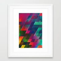 let it go Framed Art Prints featuring let go by Spires