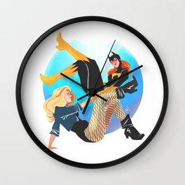 Babs and Dinah Wall Clock