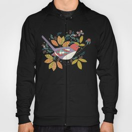 Bird and Butterfly  Hoody