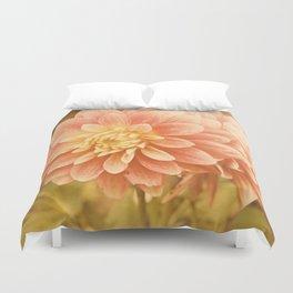 Pink dahlia #3 * Garden Flowers Floral Blossom Nature Duvet Cover