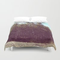 manchester Duvet Covers featuring Manchester Swamps by katarjana
