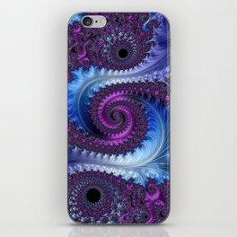 Feathery Flow - Fractal Art iPhone Skin