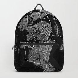 Guayaquil City Map Ecuador - Full Moon Backpack