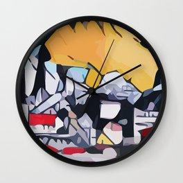 Abstract 100 #1 Wall Clock