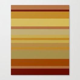 Desert Stripes Canvas Print
