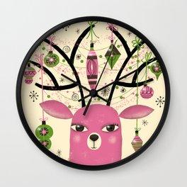 ANTLER ADORNMENTS Wall Clock