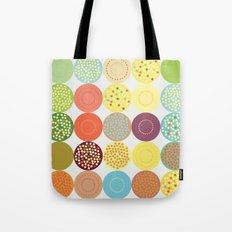 Circle pattern Tote Bag