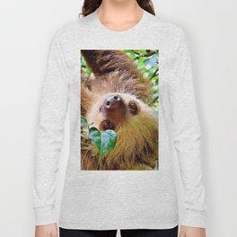 Awesome Sloth Long Sleeve T-shirt