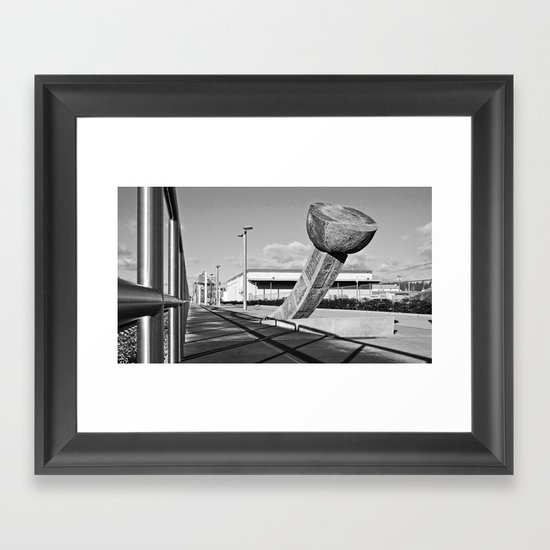 South Tacoma Sounder station Framed Art Print
