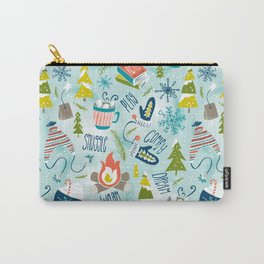 Snow Day Hooray! Carry-All Pouch