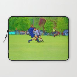 The Big Steal - Soccer Players Laptop Sleeve