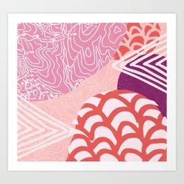 topanga Art Print