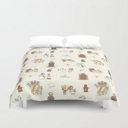 The Holy Grail Pattern Duvet Cover