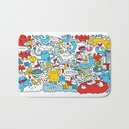 ON THE CLOUDS Bath Mat