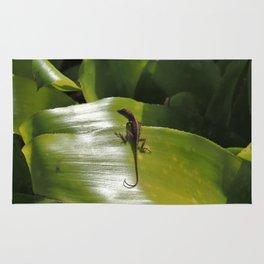 Leaf Lizard Rug