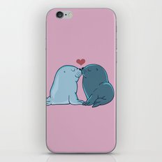 Seal Kisses iPhone & iPod Skin