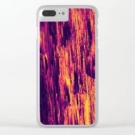 Boysenberry Clear iPhone Case