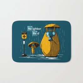 Neighbor Bad Bath Mat