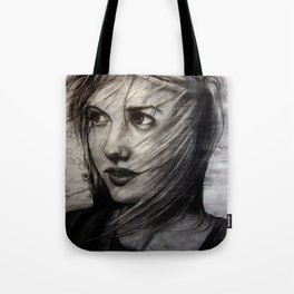 Undersketch of New Painting (VIDEO IN COMMENTS!!) Tote Bag