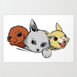 family pet Art Print