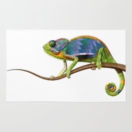 The Chameleon (Colored) Rug