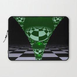 Apollonian gasket - green Laptop Sleeve