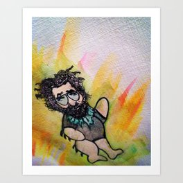 Jerry Garcia Dancing Bear Art Print