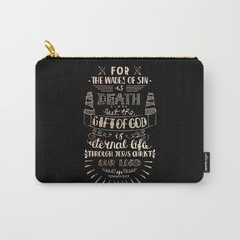 Gift of God Romans 6:23 Christian Religious Bles Carry-All Pouch