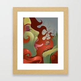 IVY's KISS Framed Art Print