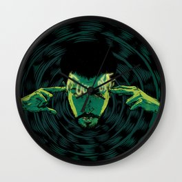 Mind-control powers in good use Wall Clock