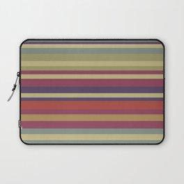 Pastel Colors Stripes Laptop Sleeve