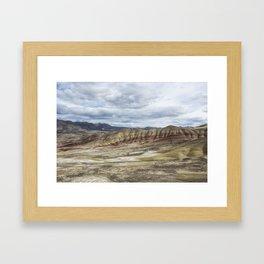 Heaven at Painted Hills Framed Art Print