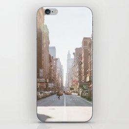 New York City Streets iPhone Skin