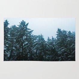 Oregon Snow Rug