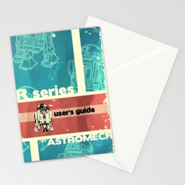 Astromech User's Guide R2-d2 Stationery Cards