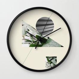 Tropical & Geometry III Wall Clock