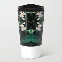 Plumeria Metal Travel Mug