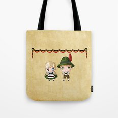German Chibis Tote Bag